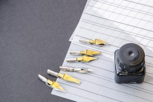 How to Fill a Calligraphy Pen Nib